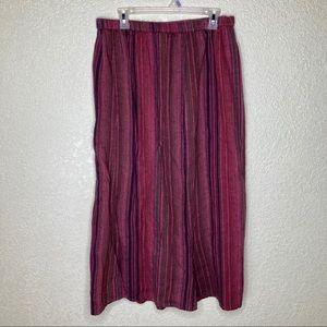 Flax Skirt Size Medium 100% Linen